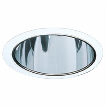 Elco ELS530CC Contemporary Clear with Clear Medium Base 5 Down Lighting Specular Reflector Trim