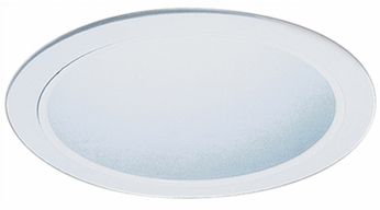 Elco ELS530KW Contemporary White Medium Base 5 Recessed Lighting Specular Reflector Trim (with Bracket)
