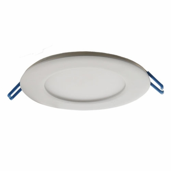 Elco ERT411XXW White LED Indoor / Outdoor 4  Round Ultra Slim Panel Ceiling Lighting