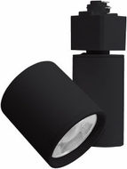 Elco ET61930DB Gordian Modern Black LED Small Home Track Lighting Head