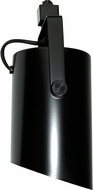 Elco ET669B Track Heads Modern Black 120V Line Voltage Wall Wash with Louver