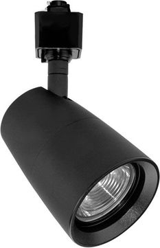 Elco ET74830B LED Windsor Contemporary Black Track Lighting Head