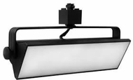 Elco ETW42XXB Pipe Modern Black LED 12 Inch Track Lighting Head