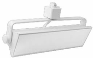 Elco ETW42XXW Pipe Contemporary White LED 12 Inch Track Light Head