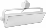 Elco ETW4330W Pipe Wall Wash Modern White LED 21  Track Lighting Fixture Head