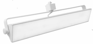 Elco ETW43CT3W Pipe Modern White LED Track Lighting Head