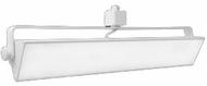 Elco ETW43XXW Pipe Contemporary White LED 21 Inch Home Track Lighting Head