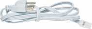 Elco EUDCRD Sage Contemporary White 6' Power Cord