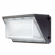 Elco EWP135L Dark Bronze LED Interior / Exterior 135 Watt Large Wall Pack