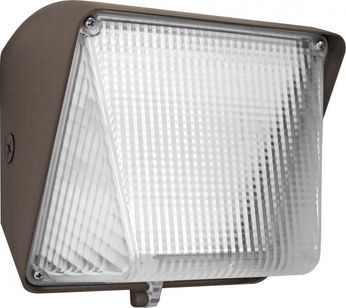 Elco EWP30S Contemporary Dark Bronze LED Outdoor Wall Pack