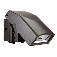 Elco EWP40C Dark Bronze LED Indoor / Outdoor 40 Watt Adjustable Wall Pack w/ Photocell