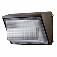 Elco EWP70M Dark Bronze LED Interior / Exterior 70 Watt Medium Wall Pack