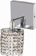 Elegant 1281W-S-R-CL-RC Mini Royal Cut Chrome Lamp Sconce