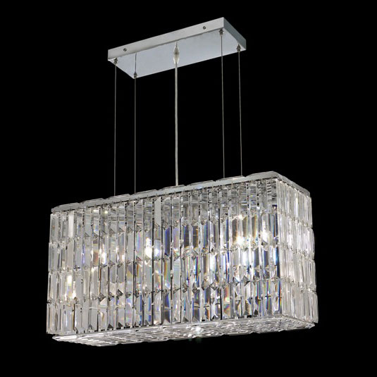 Elegant 2018d26c Rc Maxim 26 Nbsp Small Clear Crystal Kitchen Island Light Fixture Loading Zoom
