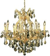 Elegant 2800D26G-GT-RC Maria Theresa Gold Ceiling Chandelier