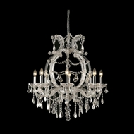 Elegant 2800D28C-RC Maria Theresa Chrome Finish 32.5  Tall Chandelier Lighting