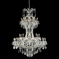 Elegant 2800D46C-RC Maria Theresa Chrome Finish 64  Tall Lighting Chandelier