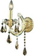 Elegant 2801W1G-GT-RC Maria Theresa Gold Lamp Sconce