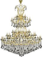 Elegant 2803G120G-SS-RC Maria Theresa Gold Hanging Chandelier