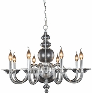 Elegant 7872D30C Champlain Chrome Chandelier Light