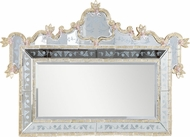 Elegant Lighting MR-1005G Murano Traditional Silver Finish 58 Wide Wall Mounted Mirror