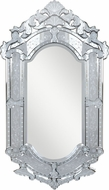 Elegant Lighting MR-2003C Venetian Traditional 27.6  Wide Wall Mounted Mirror