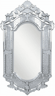 Elegant MR-2003C Venetian Clear Wall Mounted Mirror
