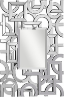 Elegant Lighting MR-3002C Contemporary 33.75 Wide Wall Mounted Mirror