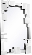 Elegant Lighting MR-3192 Contemporary 31.5  Tall Wall Mirror