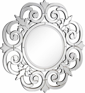 Elegant Lighting MR-3305 Contemporary 36 Wide Wall Mounted Mirror