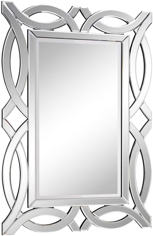Elegant Lighting Mr 3347 Modern 40 Nbsp Tall Wall Mirror Loading Zoom
