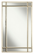 Elegant Lighting MR1-1001GC Florentine Gold Finish 36  Tall Wall Mounted Mirror