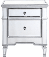 Elegant MF6-1016S Contempo Hand Rubbed Antiquesilver Cabinet