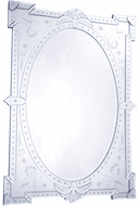 Elegant MR-2033 Venetian Clear Mirror