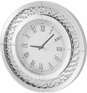 Elegant MR9115 Sparkle Clear Wall Clock