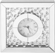 Elegant MR9116 Sparkle Clear Desktop Clock