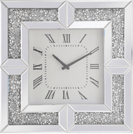 Elegant MR9208 Modern Clear Mirror Wall Clock