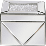 Elegant MR9210 Modern Clear Mirror Jewelry Box
