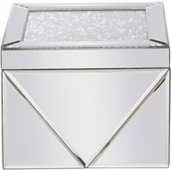 Elegant MR9211 Modern Clear Mirror Jewelry Box