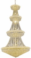 Elegant V1800G48G/RC Primo Gold Foyer Lighting Fixture