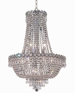 Elegant V1900D20C-RC Century Chrome 20  Drop Lighting Fixture