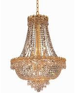 Elegant V1900D20G-RC Century Gold 20  Pendant Lighting