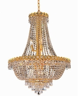 Elegant V1900D24G-RC Century Gold 24  Pendant Light
