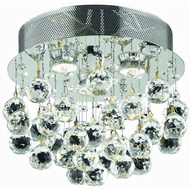 Elegant V2006F13C/RC Galaxy Chrome Home Ceiling Lighting