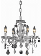 Elegant V2015D17C/RC St. Francis Chrome Mini Chandelier Lamp