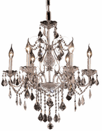 Elegant V2015D24C/RC St. Francis Chrome Chandelier Lamp