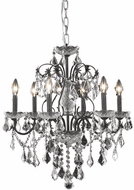 Elegant V2015D24DB/RC St. Francis Dark Bronze Chandelier Lighting