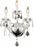 Elegant V2015W3C/RC St. Francis Chrome Sconce Lighting