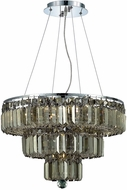 Elegant V2036D20C-GT-RC Maxime Chrome 20  Ceiling Pendant Light
