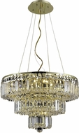 Elegant V2036D20G-RC Maxime Gold 20  Drop Lighting Fixture